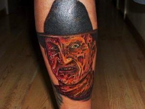 Robert Englund Tattoo Archive 161