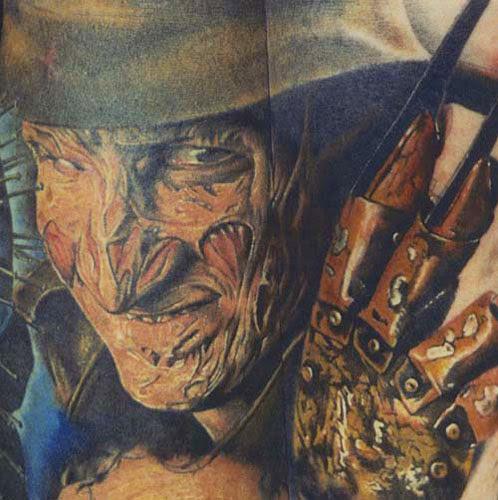 Robert Englund Tattoo Archive 162