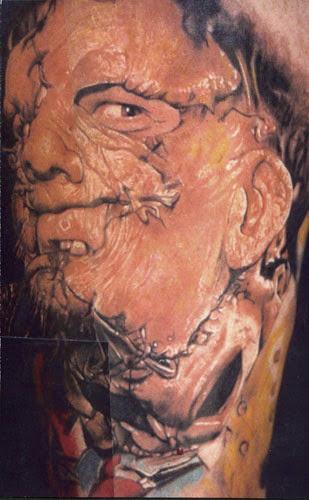 Robert Englund Tattoo Archive 164