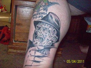 Robert Englund Tattoo Archive 167