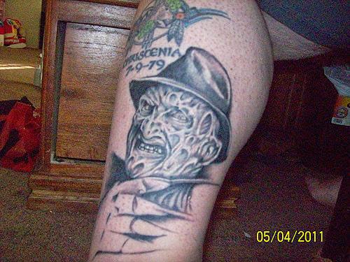 Robert Englund Tattoo Archive 167