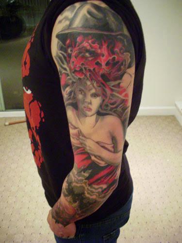 Robert Englund Tattoo Archive 168