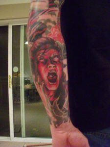 Robert Englund Tattoo Archive 169