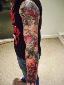 Robert Englund Tattoo Archive 170