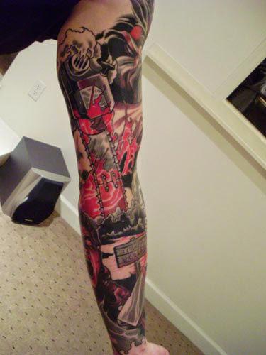 Robert Englund Tattoo Archive 171