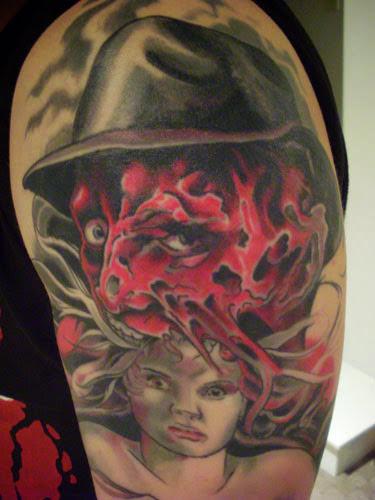 Robert Englund Tattoo Archive 172
