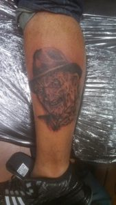 Robert Englund Tattoo Archive 175