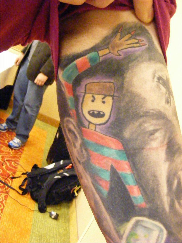Robert Englund Tattoo Archive 198