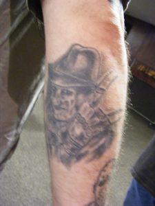 Robert Englund Tattoo Archive 200