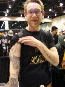 Robert Englund Tattoo Archive 205