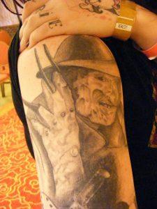 Robert Englund Tattoo Archive 203