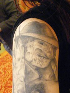 Robert Englund Tattoo Archive 206