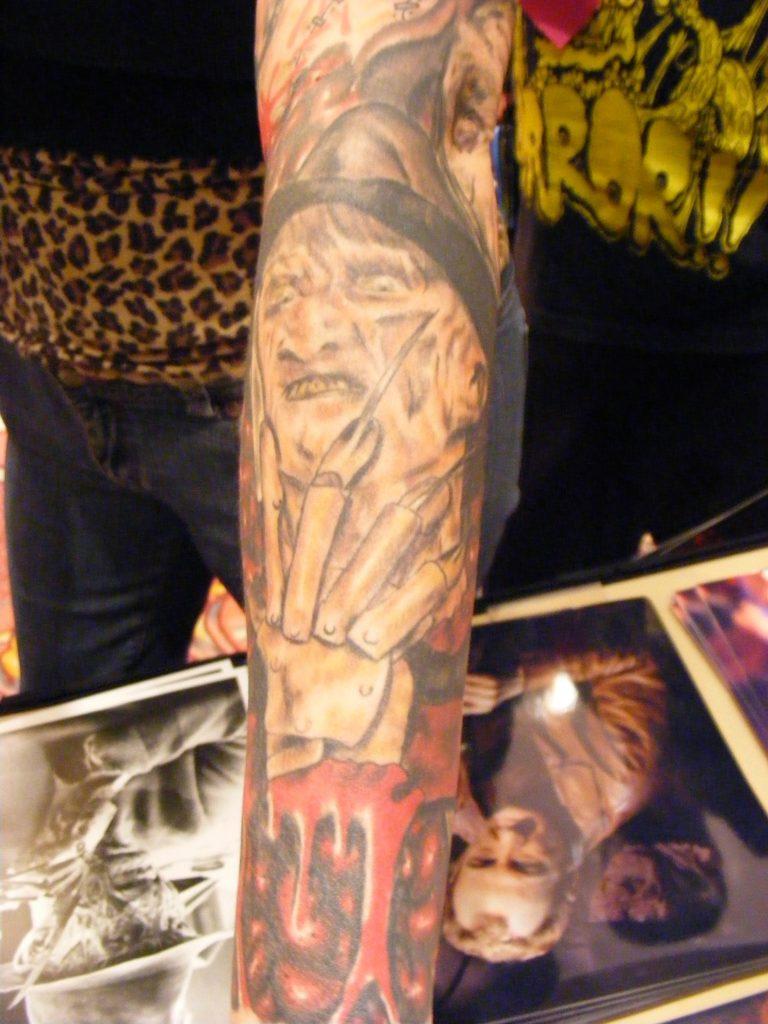 Robert Englund Tattoo Archive 210