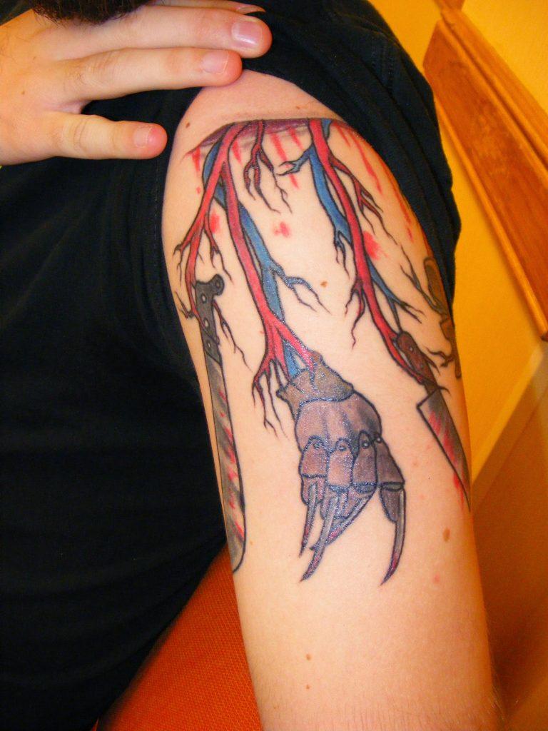 Robert Englund Tattoo Archive 212