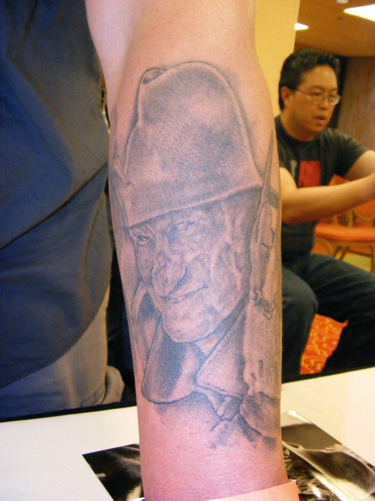 Robert Englund Tattoo Archive 215