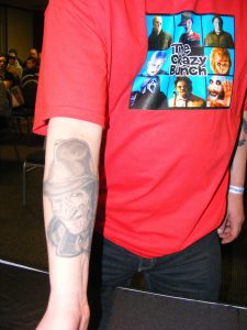 Robert Englund Tattoo Archive 217