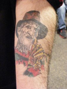 Robert Englund Tattoo Archive 223