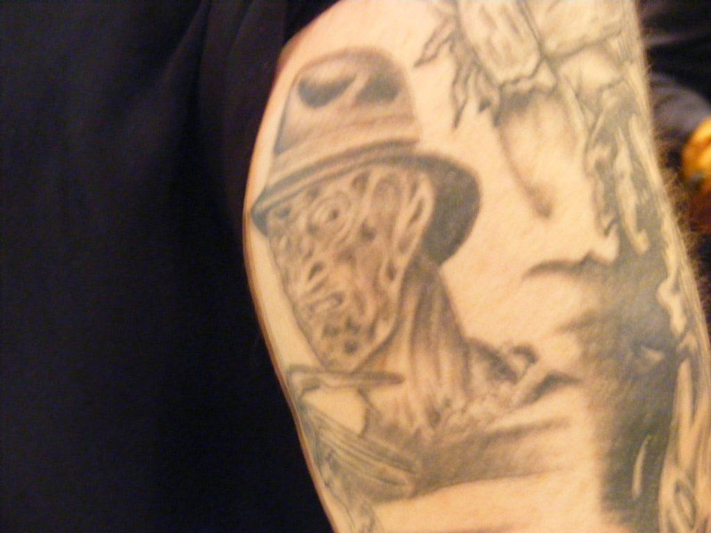 Robert Englund Tattoo Archive 227