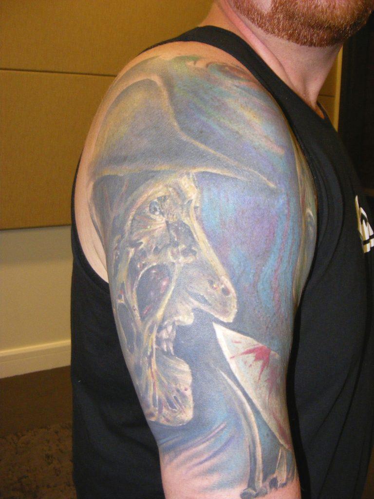 Robert Englund Tattoo Archive 232