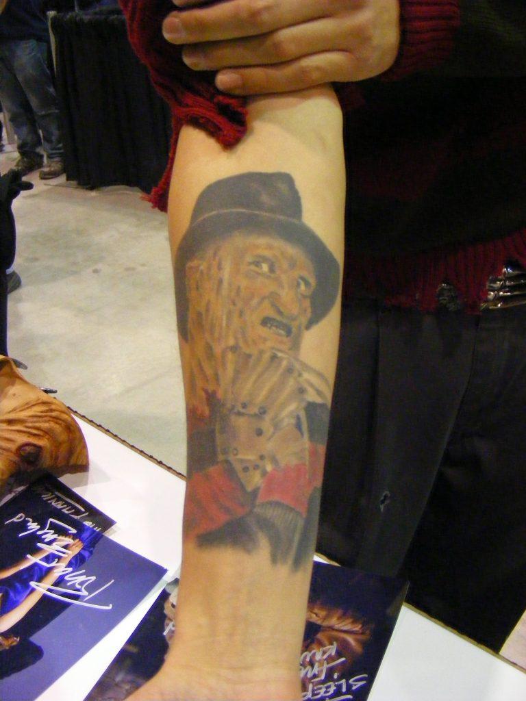 Robert Englund Tattoo Archive 230