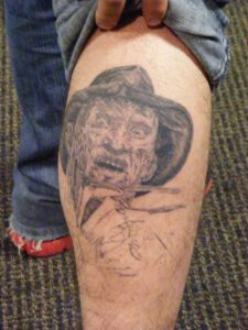 Robert Englund Tattoo Archive 231