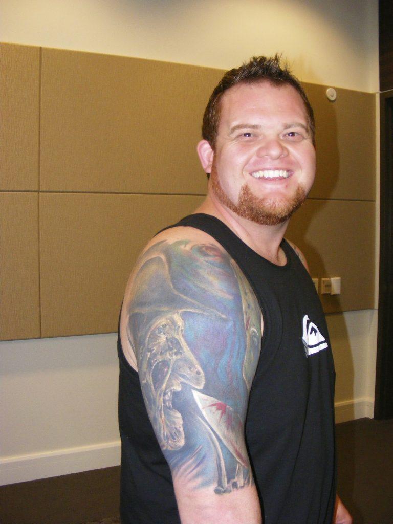 Robert Englund Tattoo Archive 235