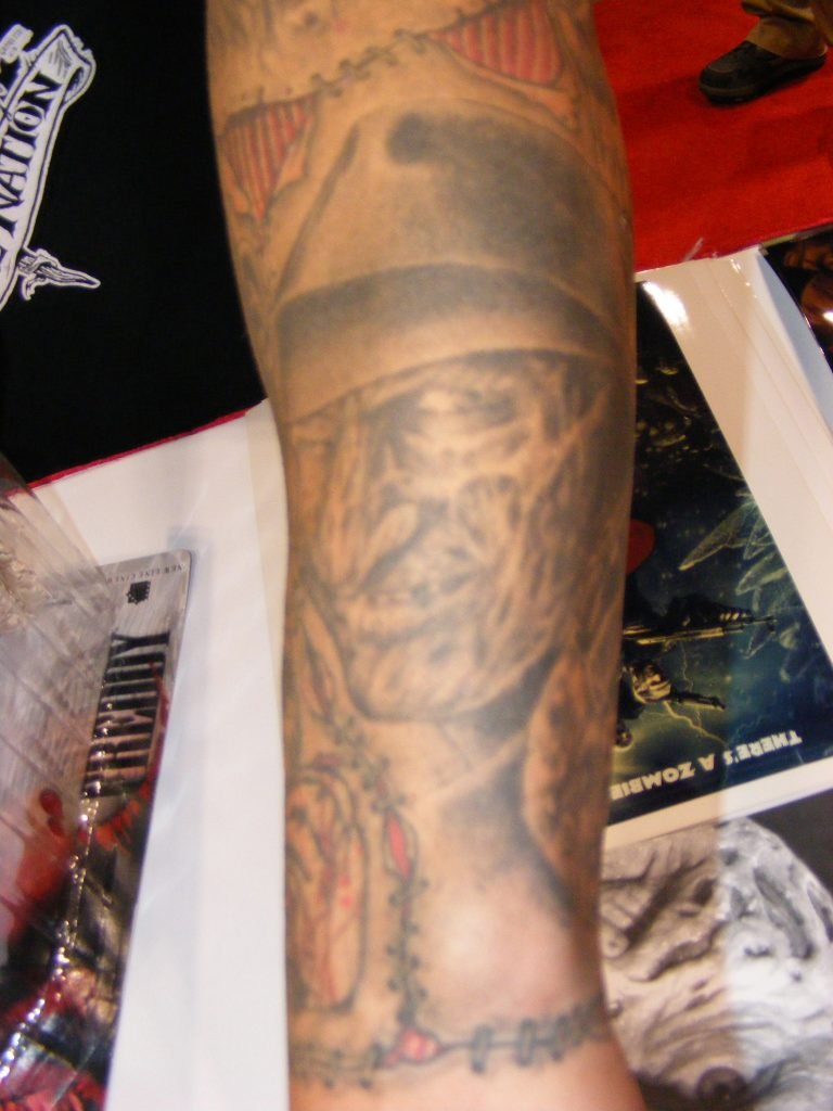 Robert Englund Tattoo Archive 236