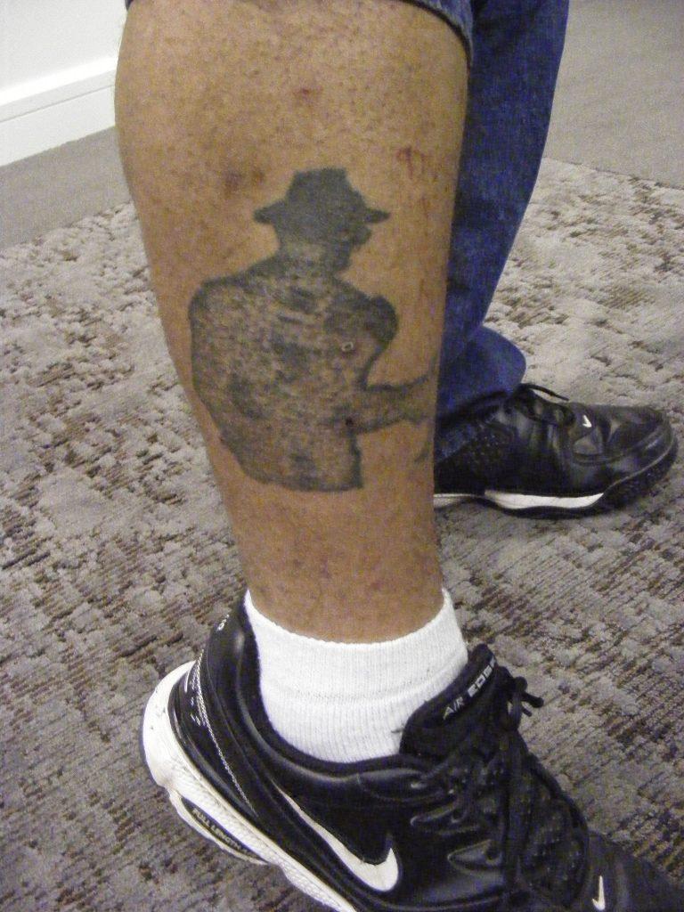 Robert Englund Tattoo Archive 240