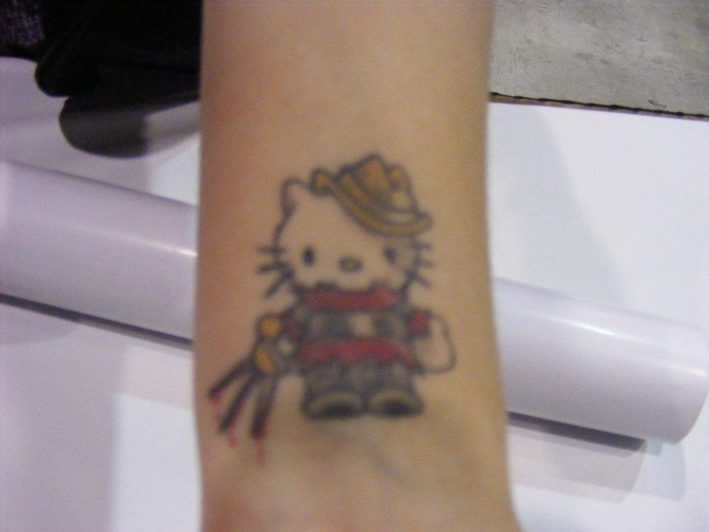 Robert Englund Tattoo Archive 242