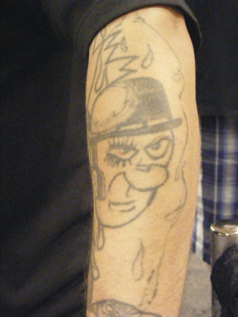 Robert Englund Tattoo Archive 247