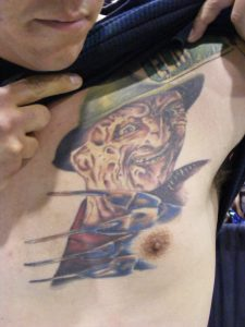 Robert Englund Tattoo Archive 251