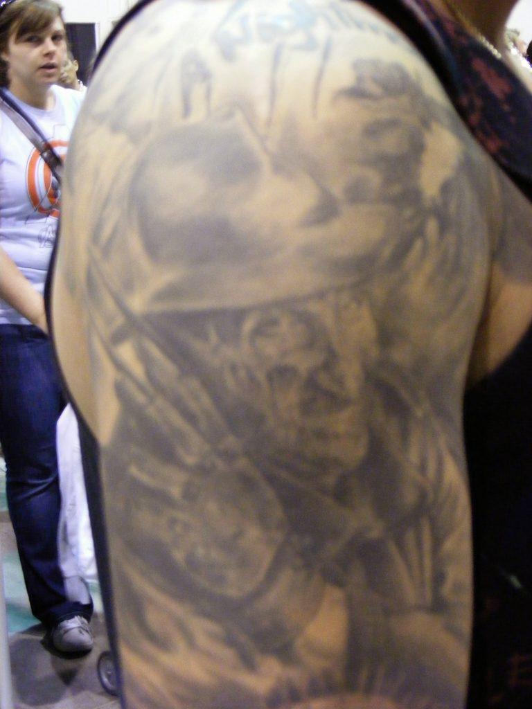 Robert Englund Tattoo Archive 259