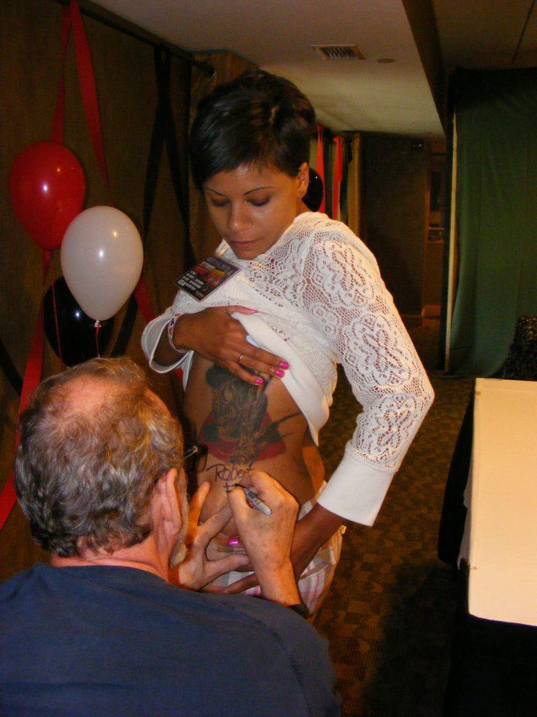 Robert Englund Tattoo Archive 256