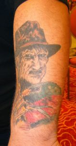 Robert Englund Tattoo Archive 257
