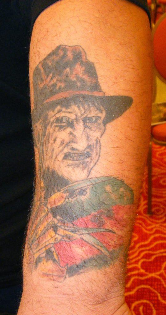 Robert Englund Tattoo Archive 257