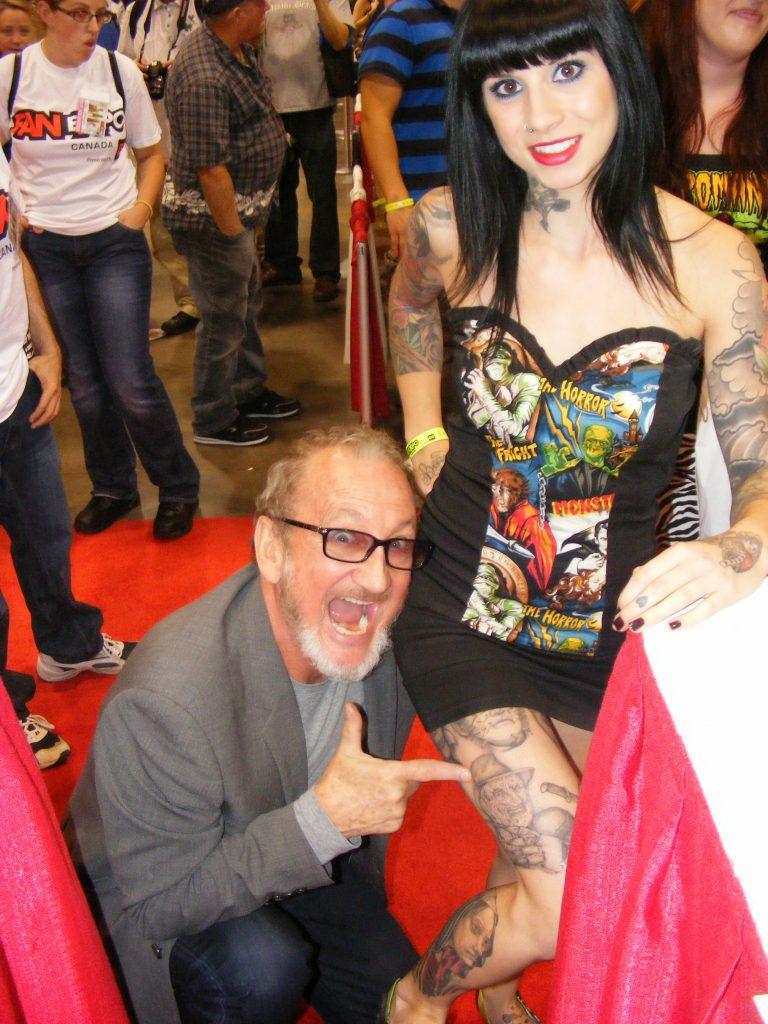 Robert Englund Tattoo Archive 261