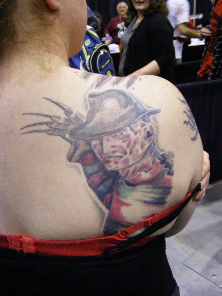 Robert Englund Tattoo Archive 267