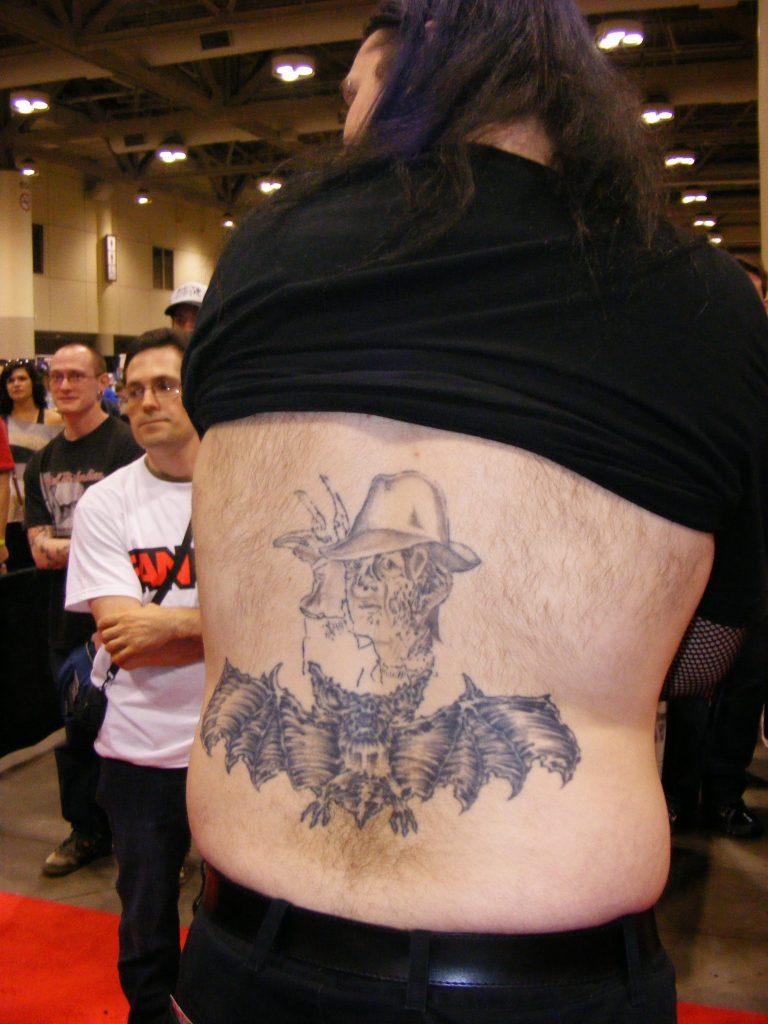 Robert Englund Tattoo Archive 264
