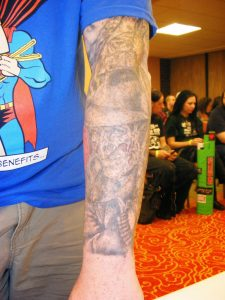 Robert Englund Tattoo Archive 266