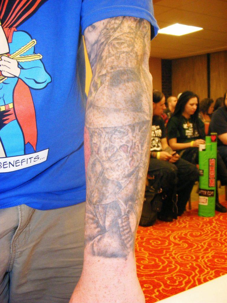 Robert Englund Tattoo Archive 266