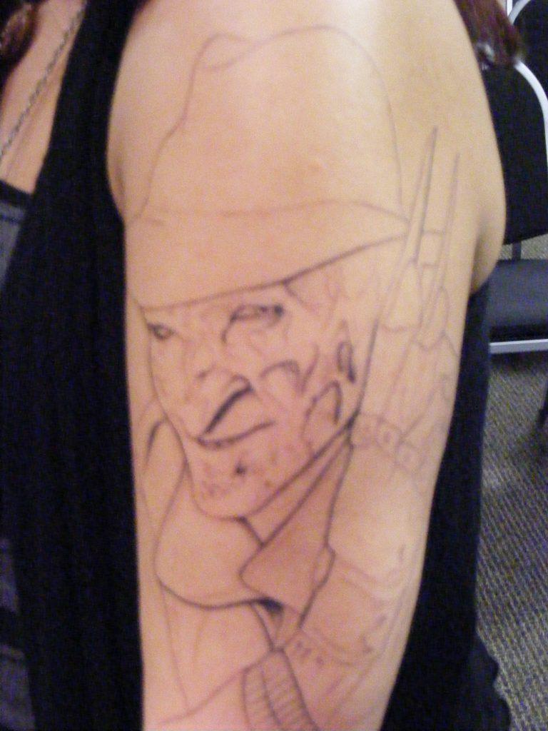 Robert Englund Tattoo Archive 268