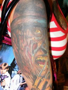Robert Englund Tattoo Archive 272