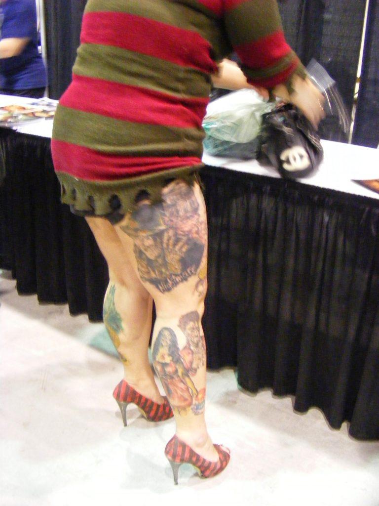 Robert Englund Tattoo Archive 276