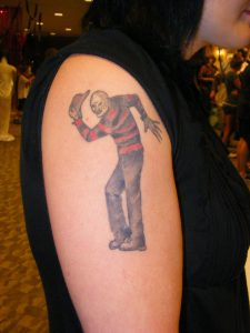 Robert Englund Tattoo Archive 274