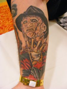 Robert Englund Tattoo Archive 278