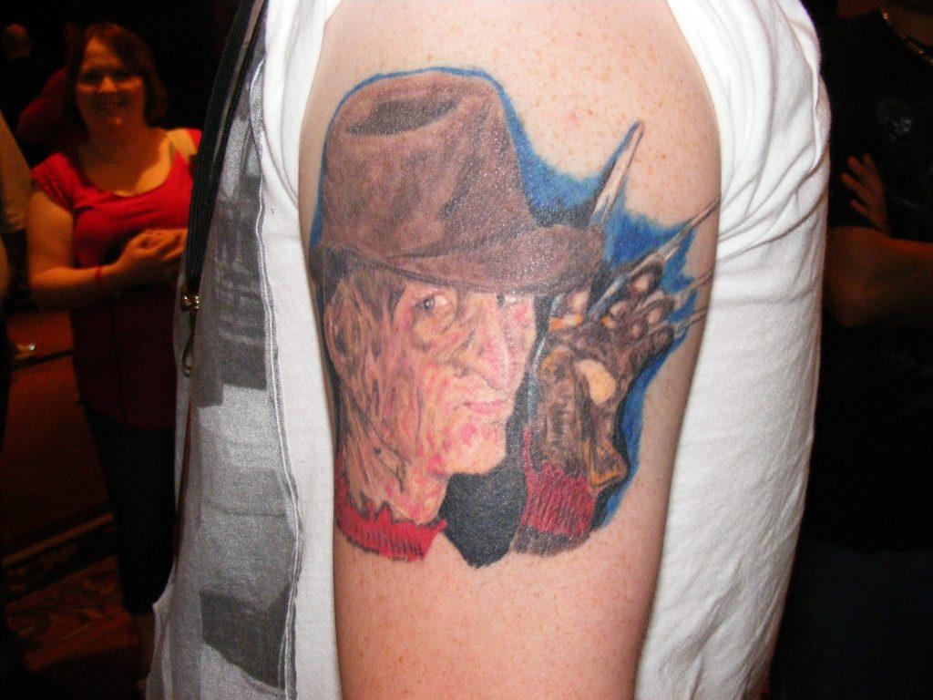 Robert Englund Tattoo Archive 282