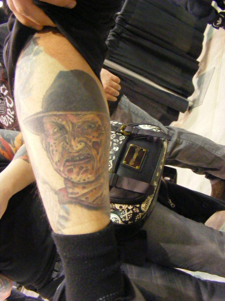Robert Englund Tattoo Archive 287