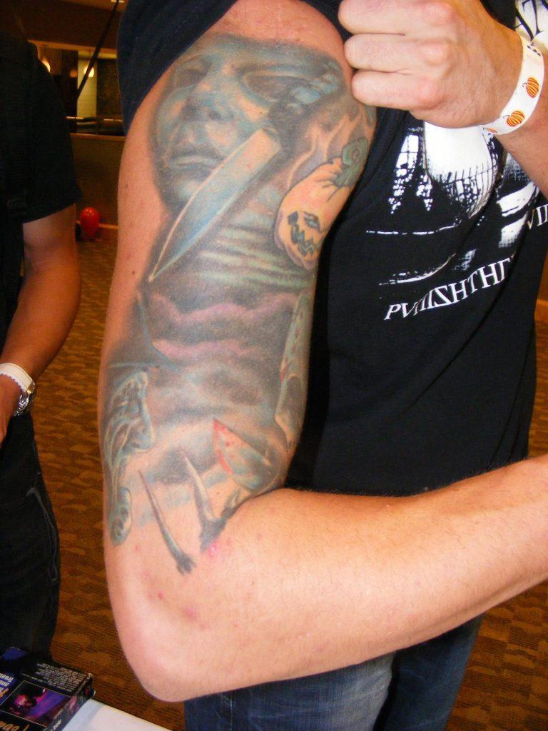 Robert Englund Tattoo Archive 285