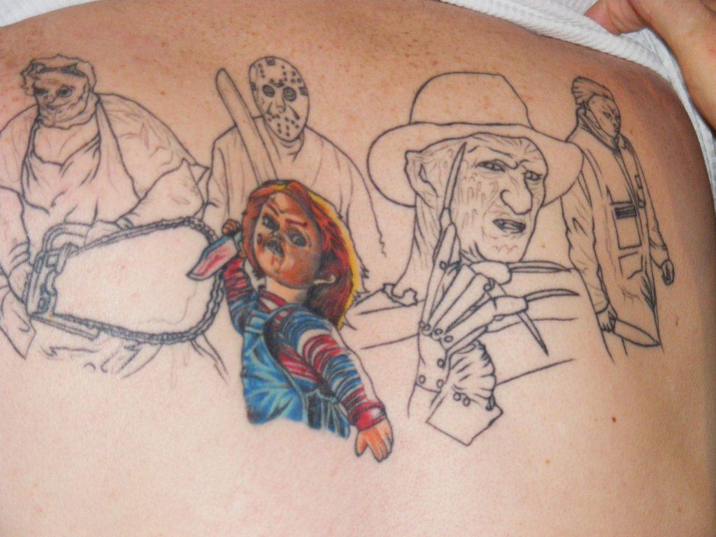 Robert Englund Tattoo Archive 288