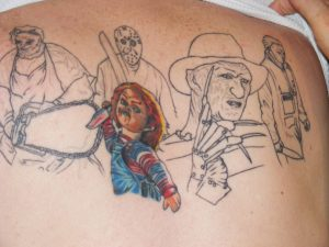 Robert Englund Tattoo Archive 288